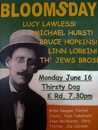 Bloomsday auckland